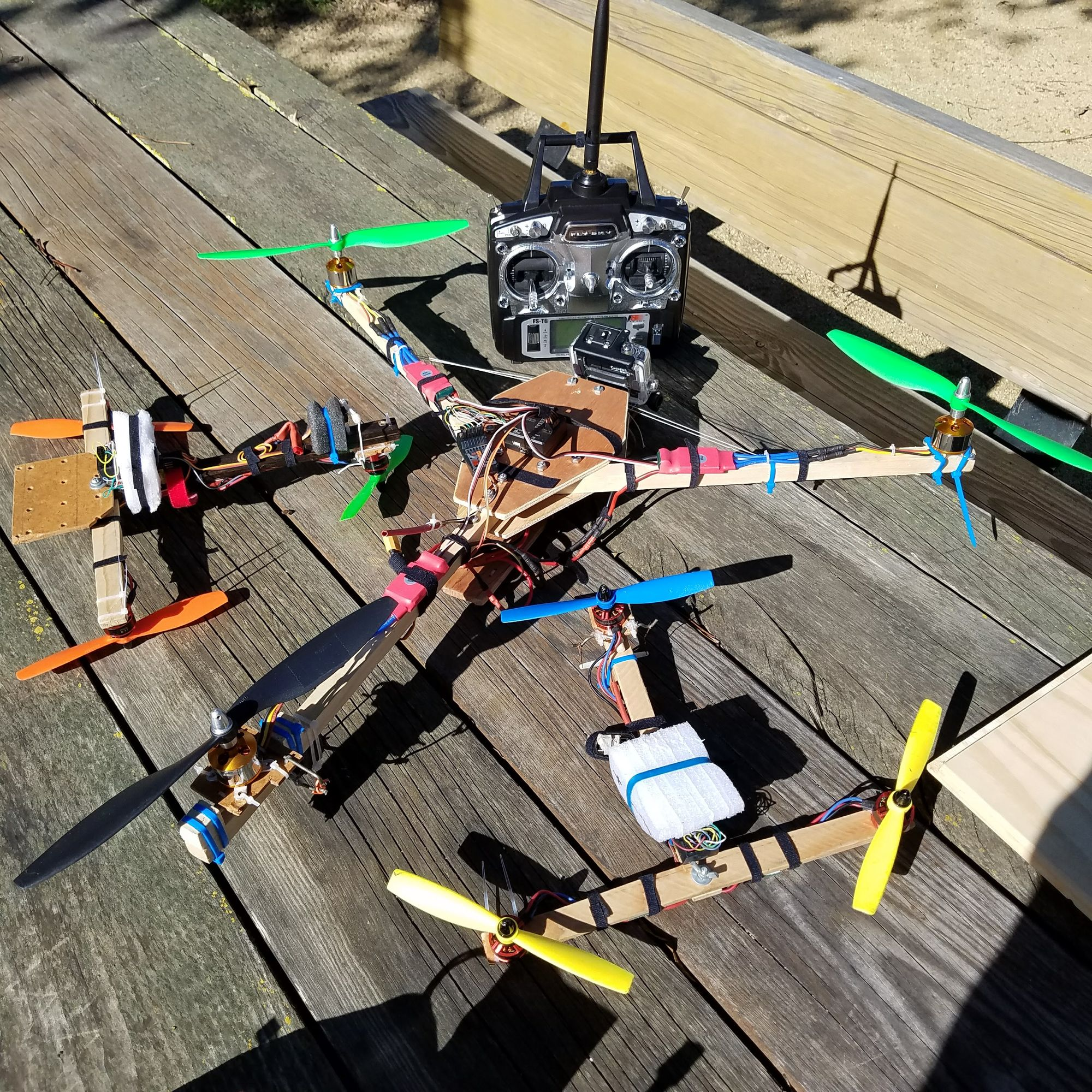 Tricopter  Buildng Update